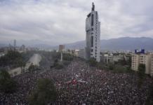 протесты Чили