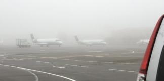 """аэропорт """"Киев"""" туман"""