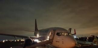 Одесса аэропорт ЧП
