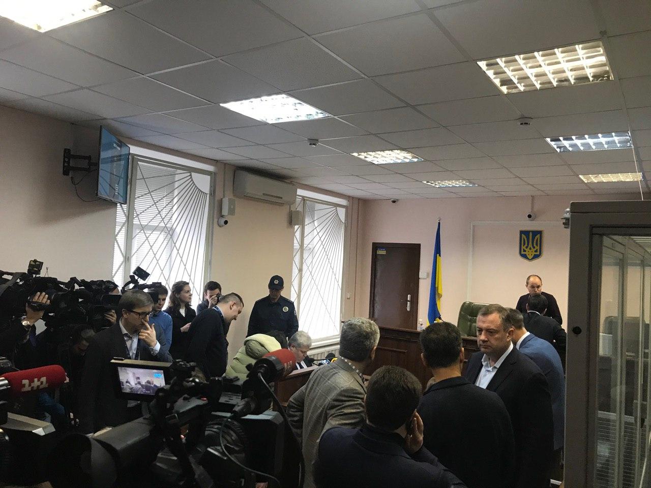 У Вищому антикорупційному суді розглядають обрання запобіжного заходу Дубневичу