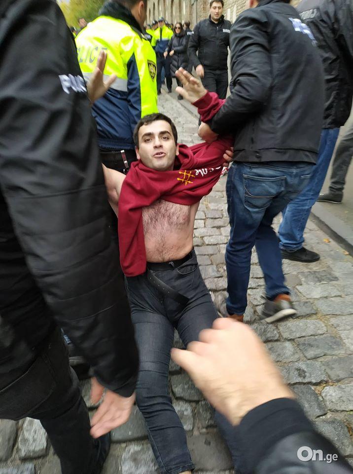 У Грузії між протестувальниками та поліцією сталися сутички