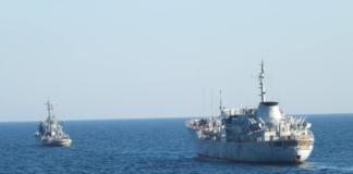 украинские корабли в Керчи