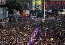 У Гонконзі відбулася наймасовіша за останні місяці акція протесту