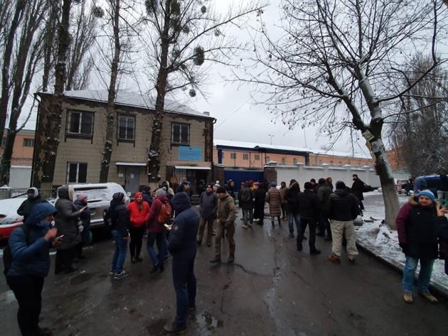 Обмен пленными: в Киеве продолжают блокировать Лукьяновское СИЗО