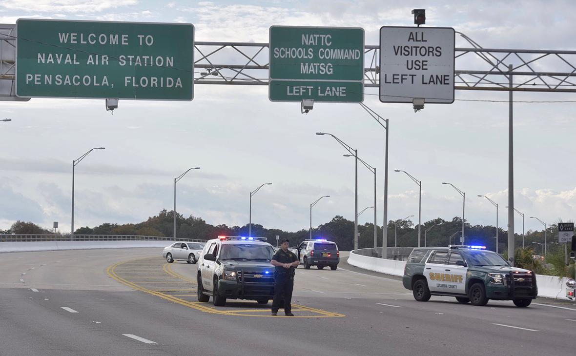 На базе ВМС США во Флориде произошла стрельба