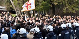 Черногория протесты