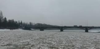 повышение уровня воды в реках Закарпатья