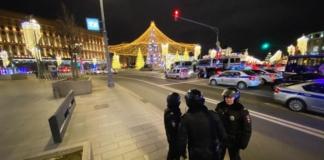 стрельба возле здания ФСБ