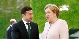 Зеленський і Меркель