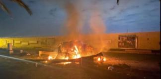 В Багдаде обстреляли аэропорт: пострадали 12 человек, погиб иранский генерал