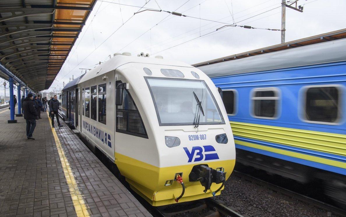 Новый поезд в