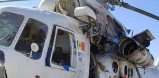 В Афганистане ракета попала в вертолет с украинскими пилотами. Оба ранены