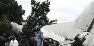 У Судані розбився літак