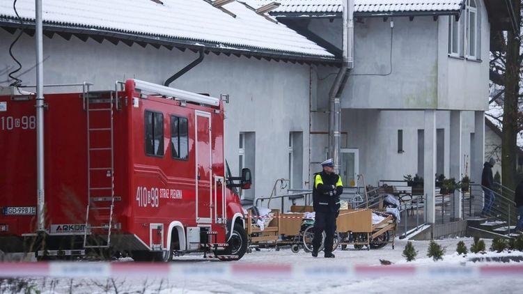 В Польше сгорел хоспис, есть погибшие