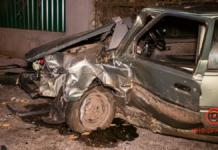 В Днепре водитель ЗАЗ потерял управление и влетел в дерево, есть пострадавший (ВИДЕО)