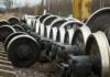 воры пытались похитить железнодорожные колёса