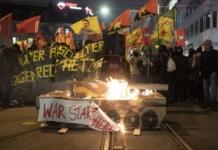 протести у Цюриху