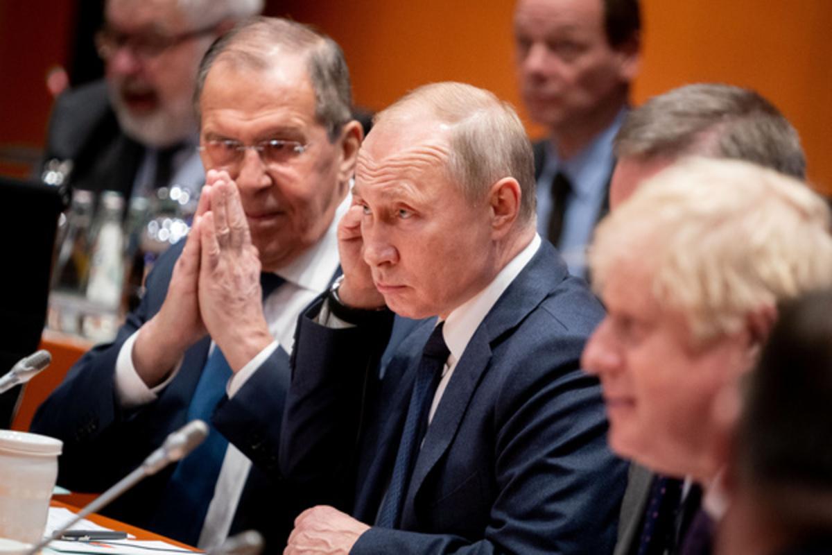 Джонсон и Путин