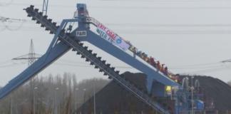 В Германии экоактивисты на 1,5 часа захватили теплоэлектростанцию