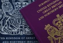 Британия изменит дизайн своих паспортов из-за Brexit