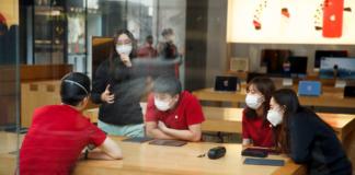В Китае из-за коронавируса закрыли все магазины Apple