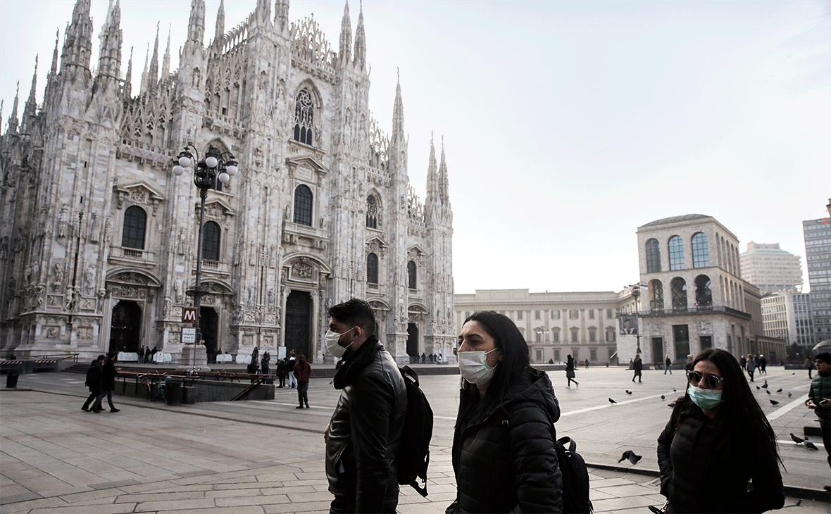 Италия коронавирус