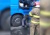 В Киеве мужчину насмерть придавило кабиной фуры