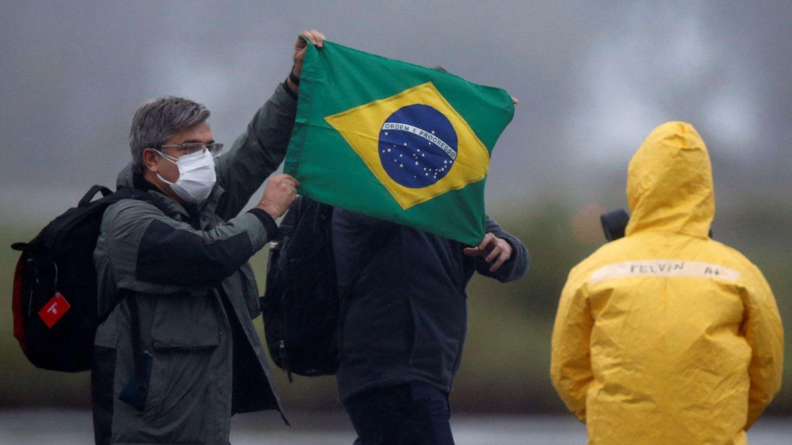 Бразилія коронавірус