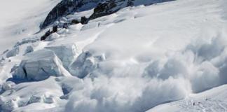 лавини в Карпатах