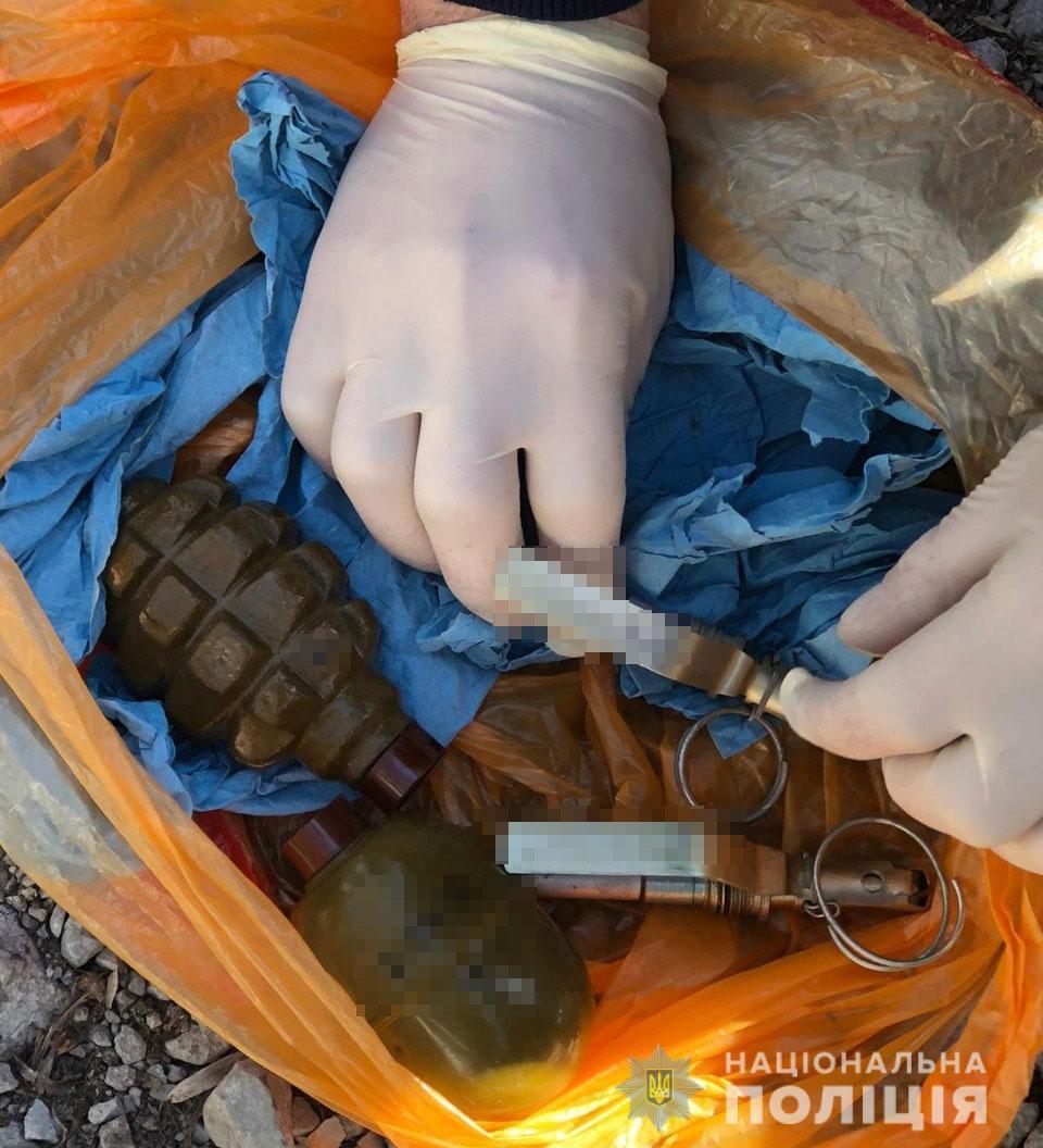У Дніпрі рецидивіст продавав гранати на вулиці
