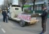 На Хмельниччині розбили авто, яке возило труну