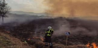 """На Закарпатье произошел пожар в """"Долине нарциссов"""" (ВИДЕО)"""