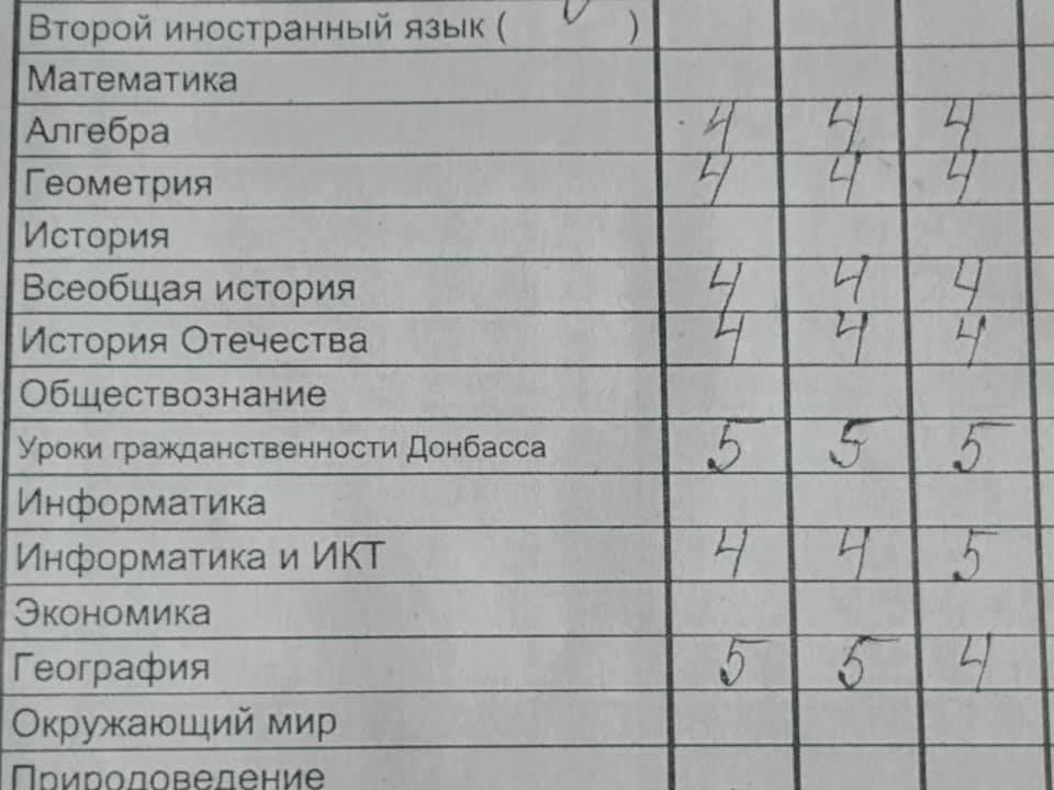"""«Уроки громадянськості Донбасу», - Аброськін показавши, Які дисципліни вікладають в школах """"ДНР"""""""