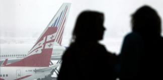 Грузия закрывает авиасообщение