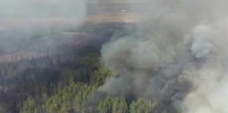 пожежа в Чорнобилі