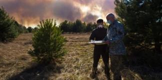 В Чернобыльском заповеднике рассказали, где продолжают гореть леса зоны отчуждения