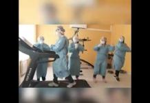 """В Луцьку медики придумали """"антикоронавірусний"""" танець"""