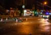 В Днепре такси столкнулось с мотоциклистом: есть пострадавшие