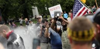 портленд протесты