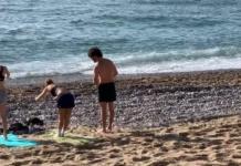 В Барселоне впервые с начала эпидемии COVID-19 открыли пляжи