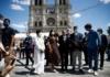 У Парижі через рік після пожежі відкрили площу перед Нотр-Дамом