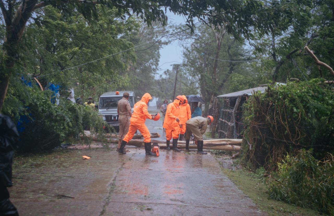 В Индии объявили стихийное бедствие из-за сильнейшего за последнее десятилетие циклона