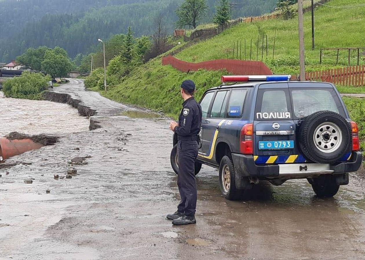 Буковина наводнение