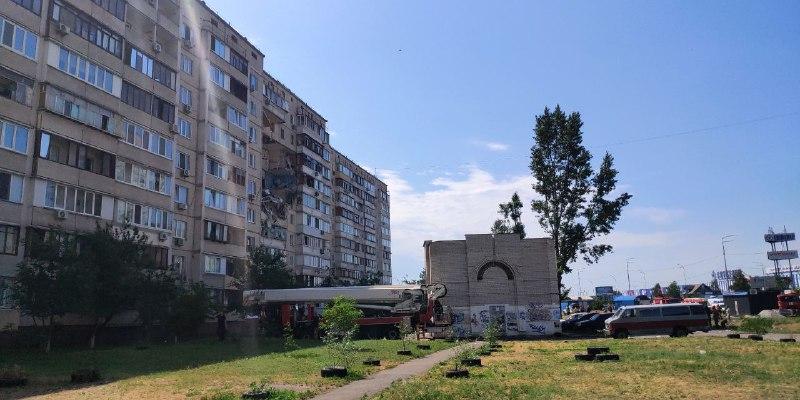 Во взорвавшемся доме в Киеве жили сотрудники