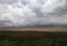 Під Одесою пронеслася піщана буря