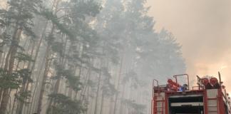 пожары под Луганском
