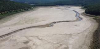 В Турции испарились два водохранилища, которые поставляли пресную воду в Стамбул