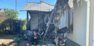Полиция не нашла взрывных устройств после пожара в доме Шабунина
