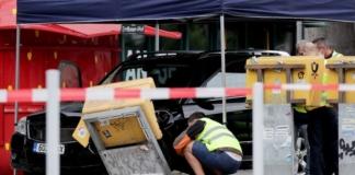 У Берліні автомобіль в'їхав у натовп людей, постраждали щонайменше п'ятеро людей