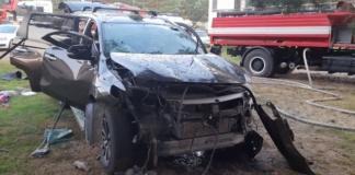 На одній з баз відпочинку Львівщини вибухнуло авто: є загиблий